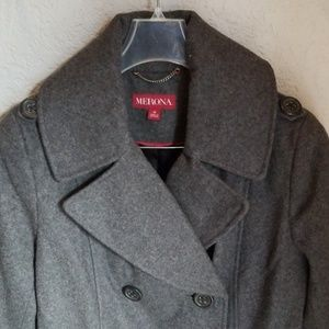 Merona wool jacket, NEW WITHOUT A TAG